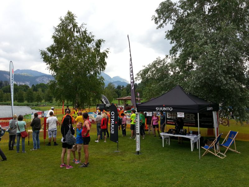 Jedermann Triathlon am Putterersee in Aigen im Ennstal