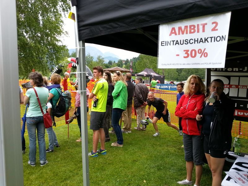 SUUNTO beim Jedermann Triathlon in Aigen/E.